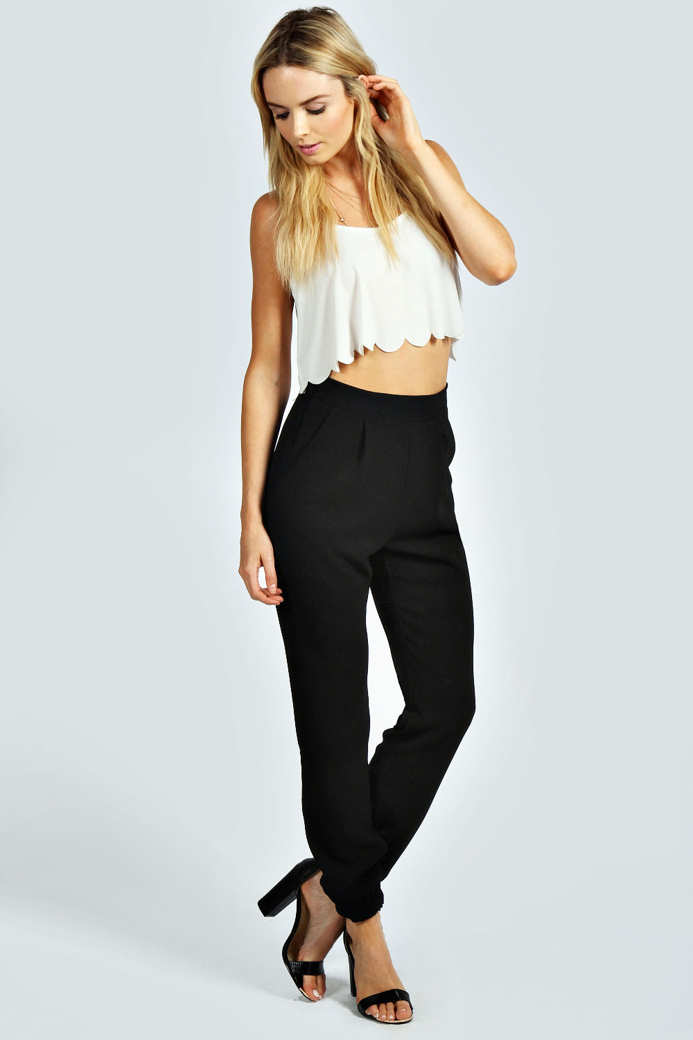 Rita Crepe Relaxed Fit Formal Joggers