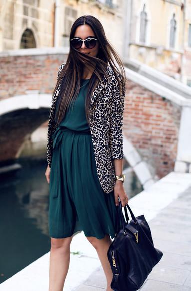 blogger shoes sunglasses bag jacket irene closet