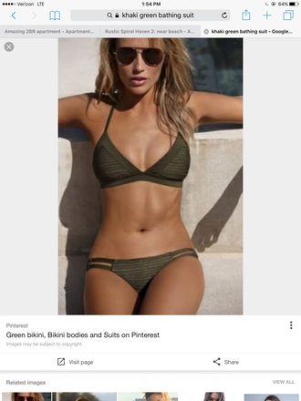 swimwear khaki khaki bikini bikini tops  bathing suits swimsuit swimsuits bikinis
