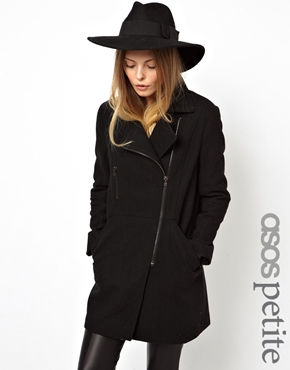 ASOS Petite | ASOS PETITE Exclusive Biker Coat at ASOS