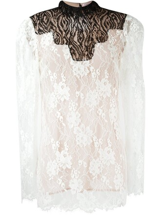 top sheer top sheer lace nude