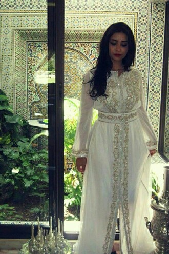 abaya kaftan dress arabic style oriental dress summer dress