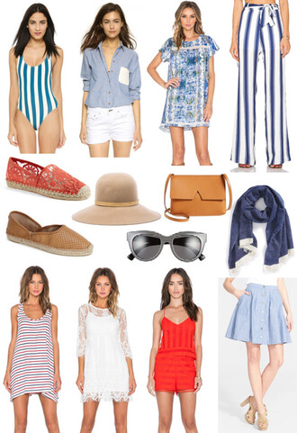 angel food blogger swimwear top dress pants shoes hat bag sunglasses scarf tank top romper skirt