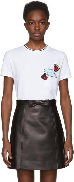 Miu Miu t-shirt shirt t-shirt white top