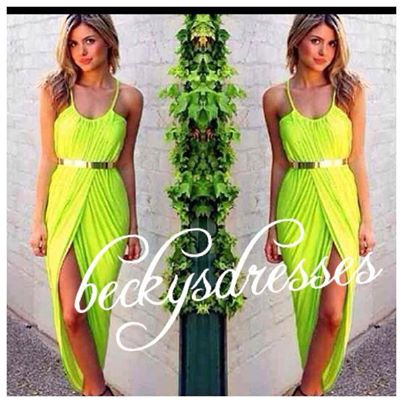 Moss Slouch Dress FREE BELT