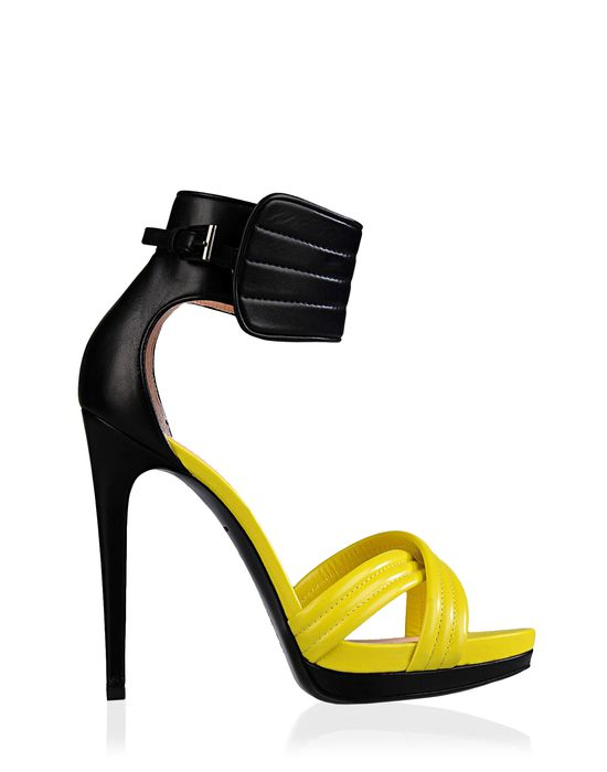 Barbara Bui Official Online Store - Leather biker sandals