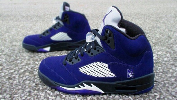 shoes blue jordan's air jordan jordan retro 5 sneakers