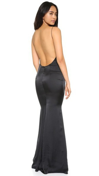 68cb153255579 Katie May Ariel Gown - Black - Wheretoget
