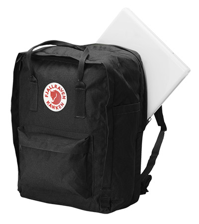 Fjallraven Kanken Laptop 15 Backpack Bag Black