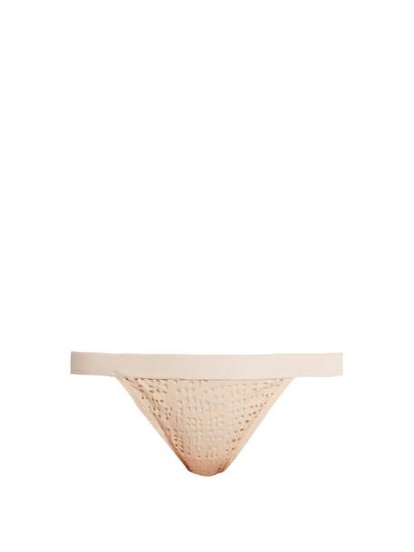 NEGATIVE UNDERWEAR thong mesh pink underwear