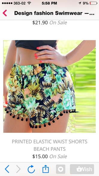 shorts black crop top fashion crop tops beuty mix pattren flowered shorts nail polish tank top