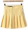 Fashion 2014 female skirts simple style solid tennis skirt high waist joker sport skirts pleated women skirt