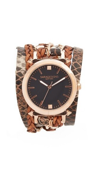 rose gold rose classic watch gold black jewels
