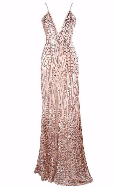 d6900f7fde9 dress maxi dress pink glitter sparkle fashion style light long dress free  vibrationz