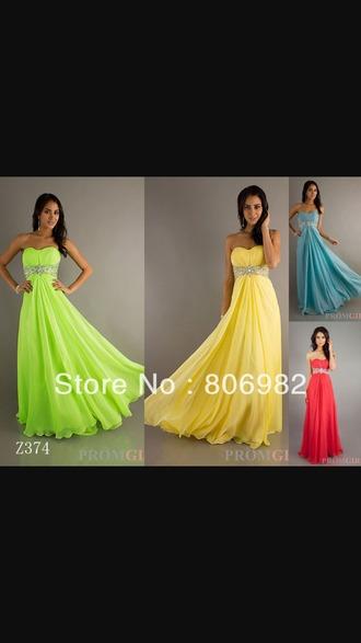 dress yellow dress green dress blue dress long dress prom dress