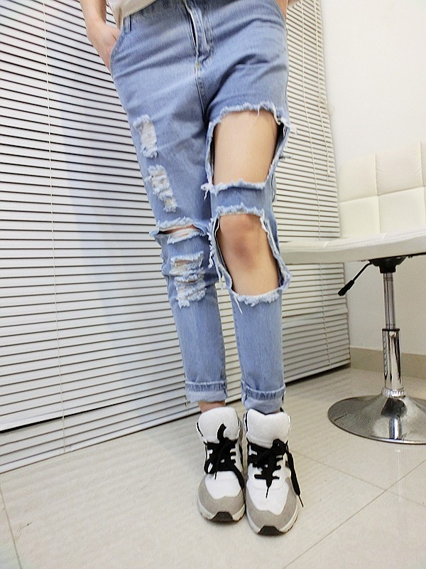 Extreme Cut Out Skinnies