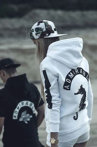 clothes white winter sweater hipster hoodie casual unisex hoo unisex hoodie white hoodie cap admirable streetwear street fashion lookbook