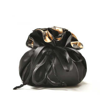 bag black bag cosmetic bag makeup bag