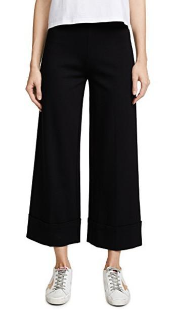 The Range pants high waist pants high black