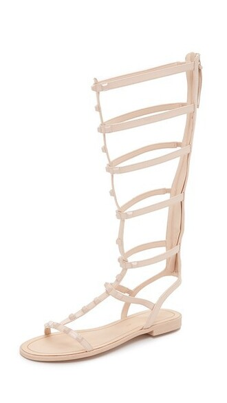 studded sandals studded sandals blush shoes
