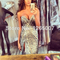 Aliexpress.com : buy ess sparkly prom pageant sweetheart slit beautiful silver feathers extravagant glitter long prom dresses 2014 fashion from reliable silver empire suppliers on sfbridal