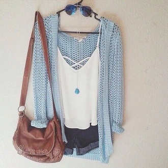 cardigan light blue fall outfits fall sweater fashion cute sweater summer outfits blue knitwear knitted cardigan baby blue heavy knit jumper light blue cardigan blue cardigan