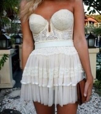 lace corset corset bows beautiful angelic romantic bridal lingerie lace dress