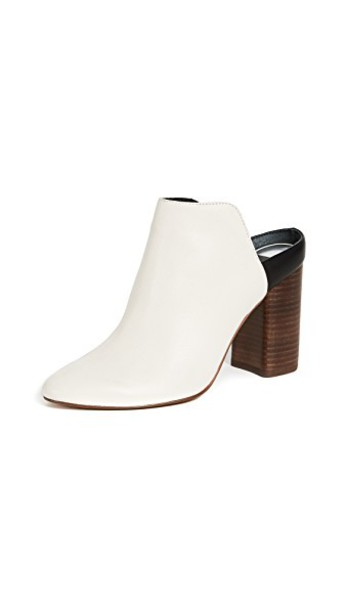 Dolce Vita backless mules white shoes