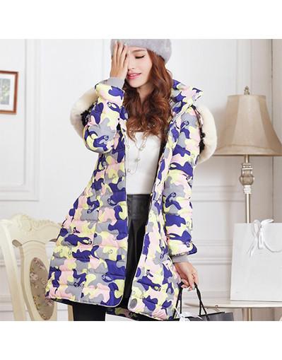 Camouflage fashion coat