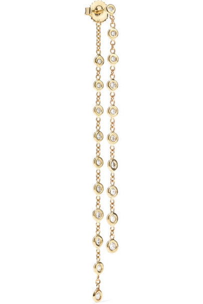 Jacquie Aiche - 14-karat Gold Diamond Earring