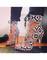 Geometric zebra strappy high heels 2015 trendy white and black