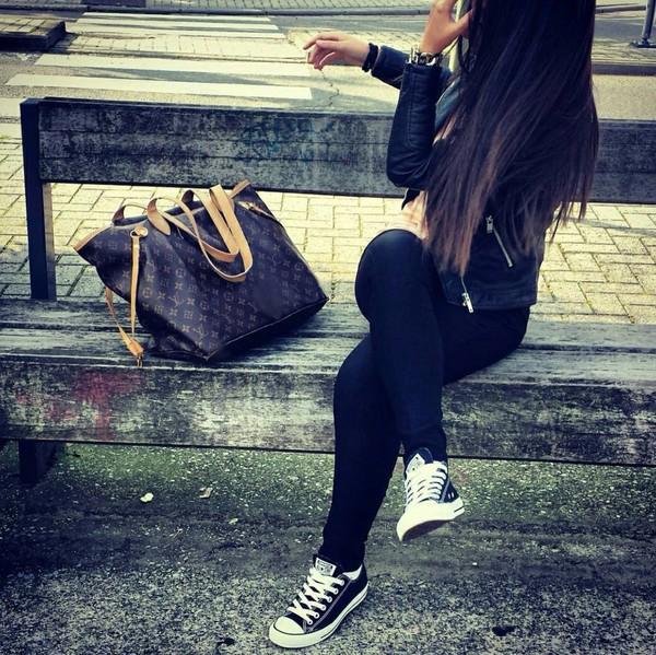 Louis Vuitton Neverfull Noir
