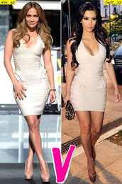 dress,dream it wear it,bandage,bandage dress,bodycon,bodycon dress,v neck,v neck dress,mini,mini dress,jennifer lopez,kim kardashian,sexy,sexy dress,pool party,party,party dress,summer,summer dress,date outfit,elegant