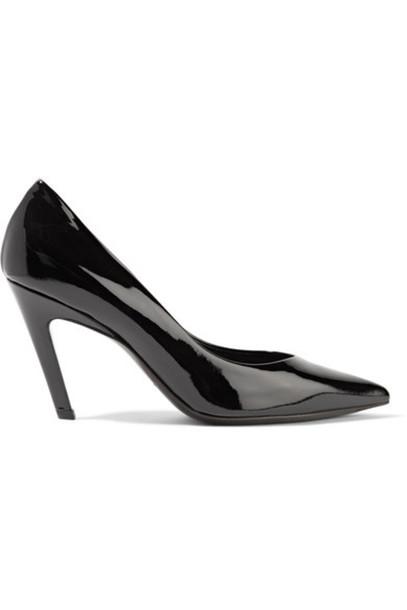 Balenciaga pumps leather black shoes