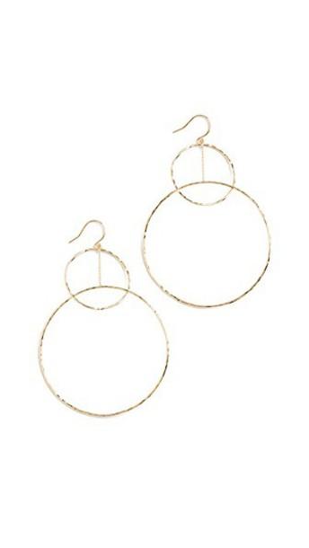 gorjana earrings gold jewels