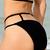 Solid Color Sexy Halterneck Hollow Out Bikini Swimwear For Women : KissChic.com