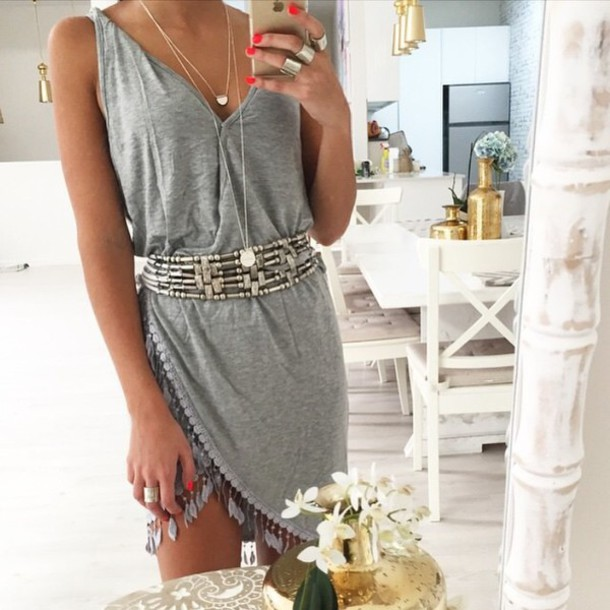 dress gypsy hippie style summer dress chic