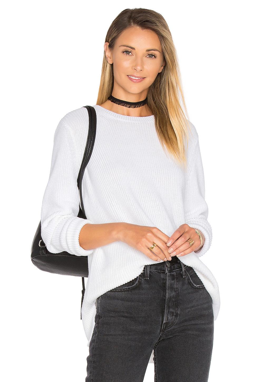 525 america Emma Sweater in white