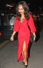 dress,red dress,exactly like the picture,leigh-anne pinnock