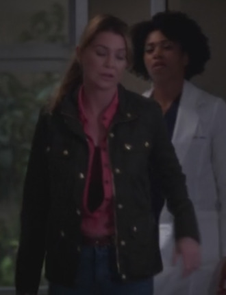 jacket grey's anatomy ellen pompeo
