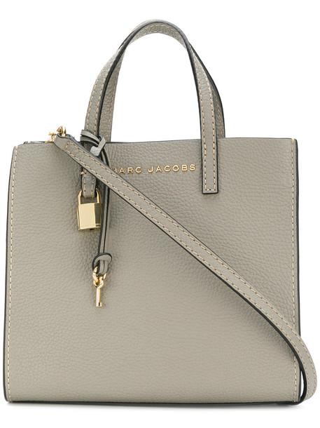 Marc Jacobs mini women bag crossbody bag leather grey