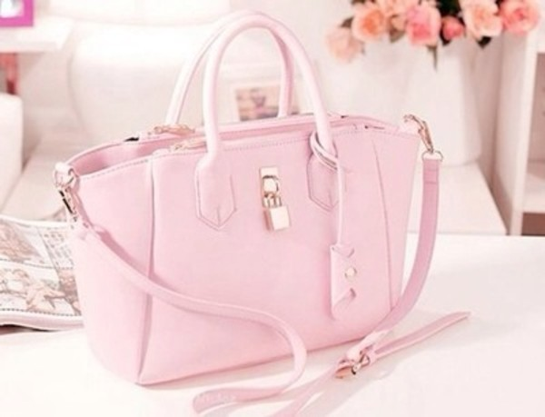 bag beautiful rose pink magenta pink cute pink bag girl girly pastel pink pastel bag