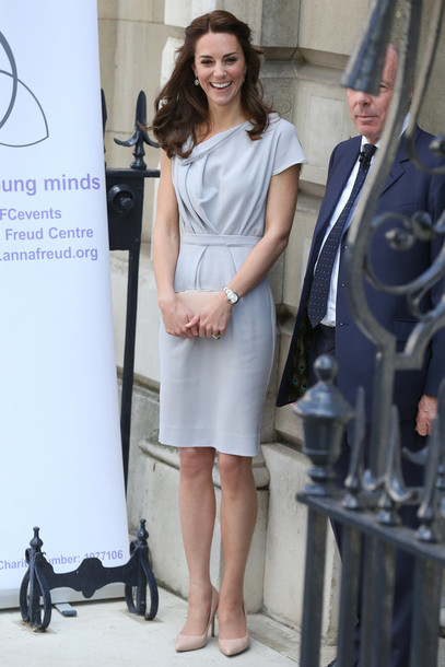 Dress grey Kate middleton