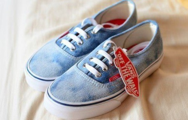 vans and jeans