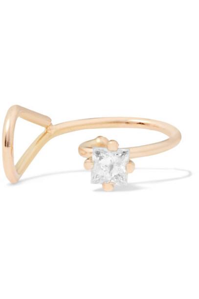 Saskia Diez cuff ear cuff gold jewels