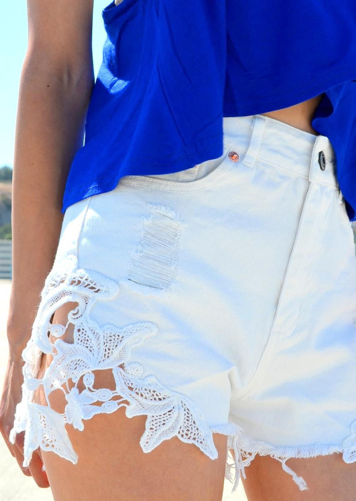 Lace well shorts – shopcivilized
