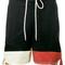 Chloé - colour block shorts - women - cotton - 40, blue, cotton