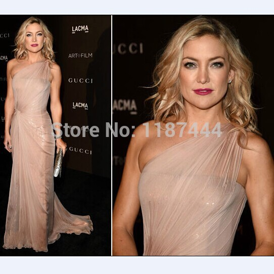 Aliexpress.com : buy kate hudson one shoulder prom dress at 2014 lacma art film gala red carpet celebrity dresses evening gowns from reliable dress design for office suppliers on prom dresses online shop!