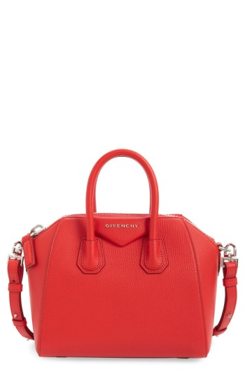 Givenchy 'Mini Antigona' Sugar Leather Satchel | Nordstrom