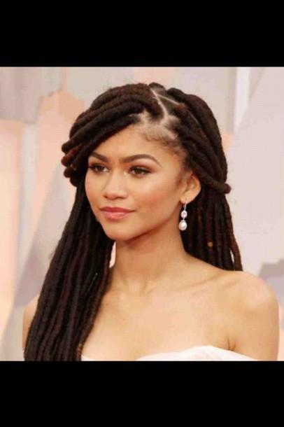 zendaya box braids